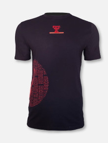 "Under Armour Texas Tech Red Raiders Basketball ""Hype Circle"" Black Short Sleeve T-Shirt"