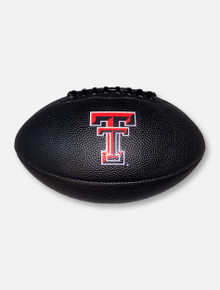 Texas Tech Red Raiders Double T Black Composite Full Size Football