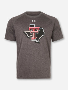 """Under Armour  Texas Tech Red Raiders Double T  YOUTH """"Pride"""" Performance Short Sleeve T-Shirt"""