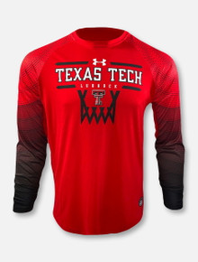 "Under Armour 2020 Texas Tech Red Raiders ""On The Court"" Shooter Long Sleeve T-Shirt"