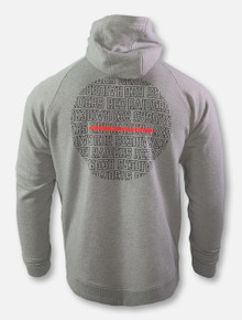 "Under Armour Texas Tech Red Raiders ""Hype Baseline"" Full-Zip Grey Hoodie"