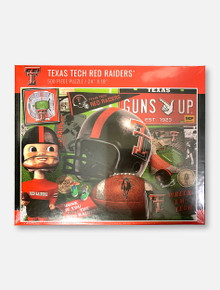 Texas Tech Red Raiders Retro Series 500-Piece Jigsaw Puzzle