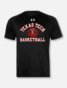 "Under Armour Texas Tech Red Raiders Basketball ""Fade Away"" Short Sleeve T-Shirt"