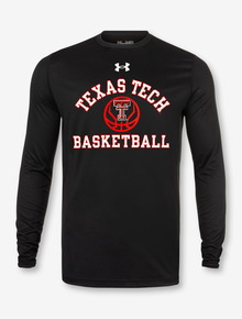"Under Armour Texas Tech Red Raiders Basketball ""Fade Away"" Long Sleeve T-Shirt"