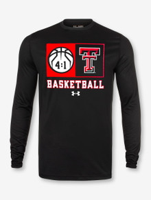 "Under Armour Texas Tech Red Raiders Basketball ""Technical"" Long Sleeve T-Shirt"