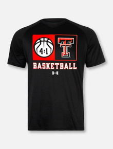 "Under Armour Texas Tech Red Raiders Basketball ""Technical"" Short Sleeve T-Shirt"