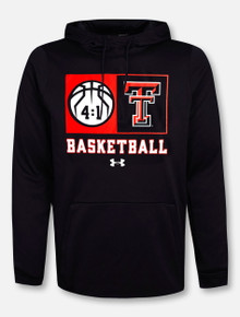 "Under Armour Texas Tech Red Raiders Basketball ""Technical"" Black Fleece Hoodie"