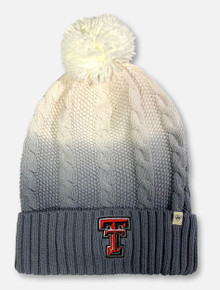 "Texas Tech Red Raiders Double T ""Dissolve"" Pom Beanie"