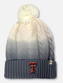 "Texas Tech Red Raiders Double T ""Dissolve"" Pom Beanie"
