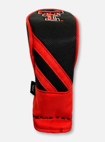 Team Effort Texas Tech Red Raiders Double T Red and Black Hybrid Headcover
