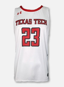 Under Armour 2021 Texas Tech Red Raiders YOUTH Basketball Replica Jersey front