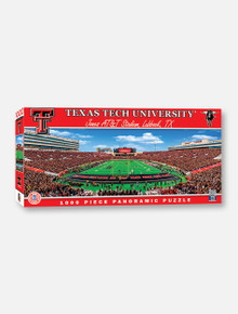 Texas Tech Red Raiders Stadium View 1000-Piece Panoramic Jigsaw Puzzle