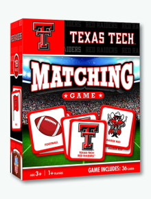 Texas Tech Red Raiders Matching Game