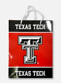 Texas Tech Red Raiders Double T Red Gift Bag
