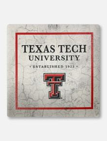Texas Tech Red Raiders Double T Sandstone Coaster