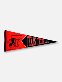 Texas Tech Red Raiders Double T Vault Logo Pennant