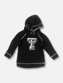 """Arena Texas Tech Red Raiders Double T INFANT """"Pops"""" Black Hoodie"""
