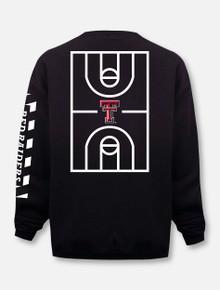 "Champion Texas Tech Red Raiders ""Court in Session"" 2020 Basketball Black Sweatshirt"