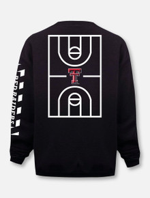 "Champion Texas Tech Red Raiders ""Court in Session"" 2020 Basketball Black Sweatshirt"