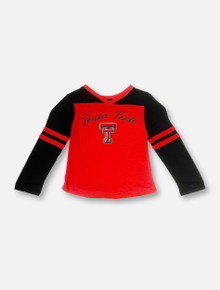 "Arena Texas Tech Red Raiders Double T ""Bobo"" TODDLER Long Sleeve T-Shirt"