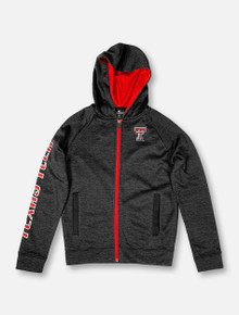 "Arena Texas Tech Red Raiders Double T ""Statler"" YOUTH Full-Zip Hoodie"