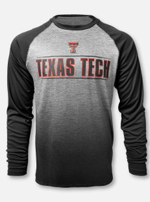 """Arena Texas Tech Red Raiders  Double T """"Sitwell Sublimated"""" Grey Long Sleeve T-Shirt"""