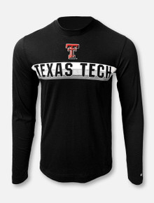 "Arena Texas Tech Red Raiders  Double T ""Thoon"" Black Long Sleeve T-Shirt"