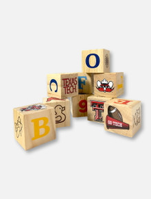 Texas Tech Red Raiders Double T Wooden Block Set