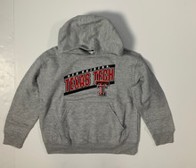 CI Sport Texas Tech Red Raiders Double T YOUTH Pullover Hoodie In Grey