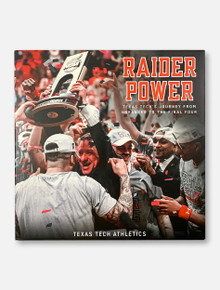 "Texas Tech Red Raiders Basketball ""Raider Power: Texas Tech's Journey From Unranked To The Final Four"" Hardcover Book"