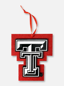 Texas Tech Red Raiders Double T Felt Ornament
