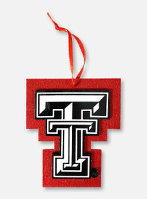 Texas Tech Red Raiders Double T Felt Ornament