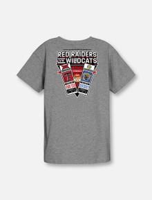 "Texas Tech vs. Kentucky ""Game Collectors"" Grey YOUTH T-Shirt"