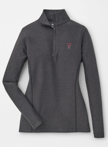 Peter Millar Texas Tech Red Raiders Double T  Quarter-Zip Stretch Terry Pullover