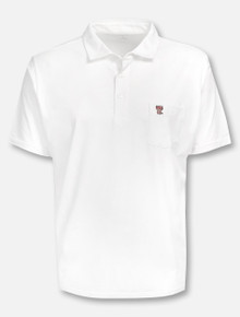 """Peter Millar Texas Tech Red Raiders Double T  """"Solid Seaside"""" With Pocket Polo"""