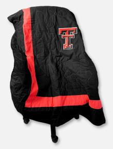 Texas Tech Red Raiders Embroidered Double T Quilted Blanket