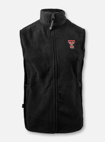 "Texas Tech Red Raiders Double T ""Ridgeline Fleece"" Vest"