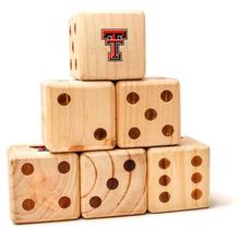 Texas Tech Red Raiders Double T Yard Dice
