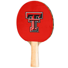 Texas Tech Red Raiders Double T Table Tennis Paddle