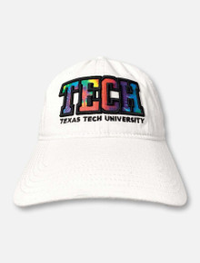 Legacy Texas Tech Red Raiders TECH Block Tie-Dye Adjustable Cap