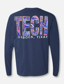"Texas Tech Red Raiders ""Fortune Teller"" TECH Block Long-Sleeve T-Shirt"