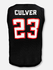 Retro Brand Texas Tech Red Raiders YOUTH Jarrett Culver #23 Black Jersey