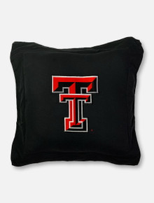 Texas Tech Red Raiders Embroidered Double T Pillow
