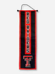 Texas Tech Red Raiders Double T Long Banner