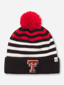 "47 Brand Texas Tech ""Yipes"" YOUTH Black, Red & White Beanie"