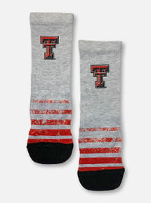 Texas Tech Red Raiders Double T YOUTH Vintage Heather Socks