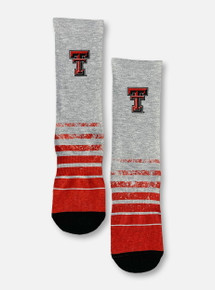 Texas Tech Red Raiders Double T Vintage Heather Socks