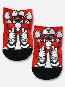 Texas Tech Red Raiders Double T Raider Red Low-Cut Socks