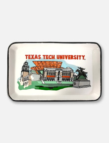 "Glory Haus Texas Tech Red Raiders Double T ""Landmark"" Trinket Tray"