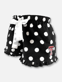 Texas Tech Red Raiders Double T Polka Dot VIP Pajama Shorts